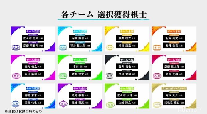 将棋・第3回AbemaTVトーナメント