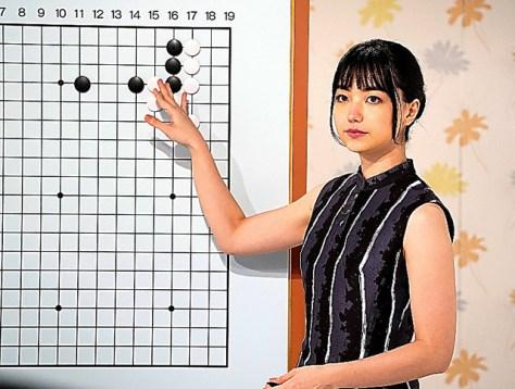 黒嘉嘉七段=NHK提供