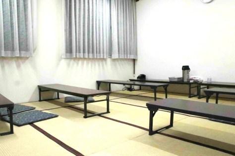 対局室として復活することになった将棋会館内の「桂の間」