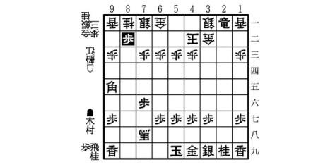 B図・木村―船江戦・▲8二歩まで
