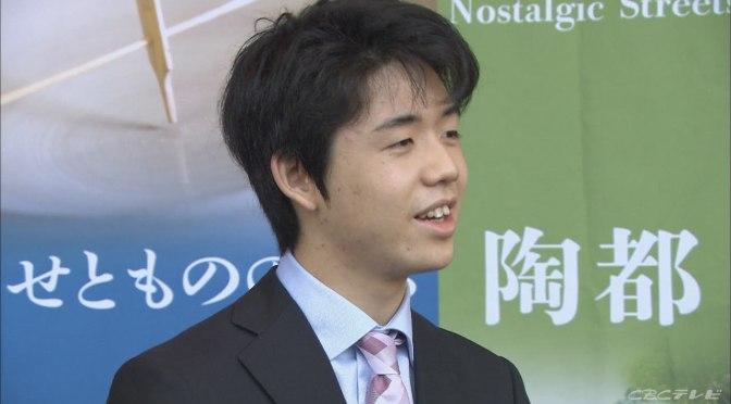 藤井聡太二冠が高校を自主退学 校長が「ますますの活躍楽しみに」とコメント   CBC NEWS