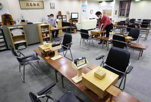 43年の歴史に幕を下ろす広島将棋センター