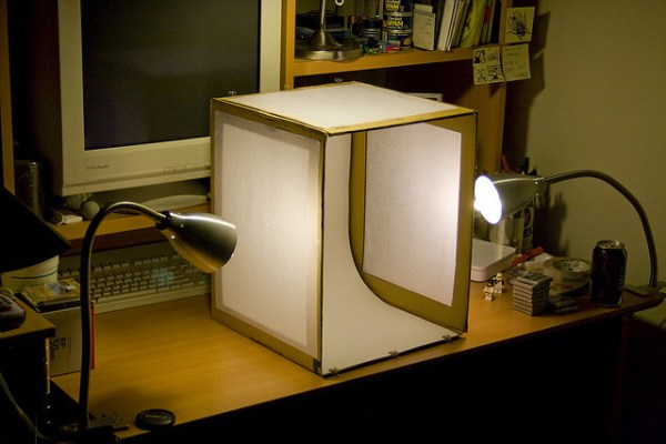 Light tent on the cheap