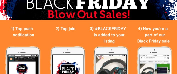 Make money & have your own Black Friday sale on 5miles!