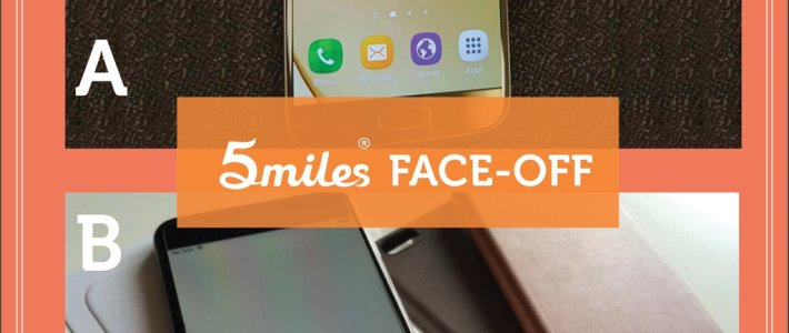 5miles Face-Off: Apple iPhone vs. Samsung Galaxy