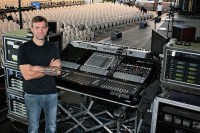 Scott Koopmann, the Monitor engineer for Chicago the band