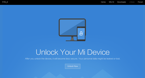 Unlock Your Mi Device