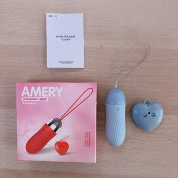 USB直插充電 無線遙控 螺紋形狀刺激蜜蜜跳蛋 產品照