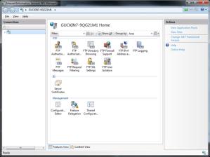 Windows 7 FTP Server