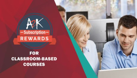A2K discounted classroom training Autodesk Subscription Rewards