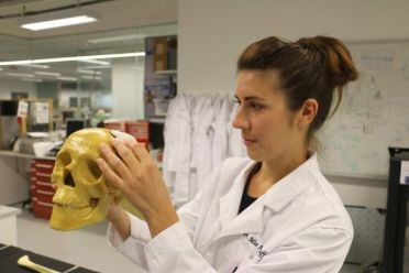 Queensland University of Technology's Dr Mia Woodruff wants to see 3D printers assisting surgeons in operating theatres in the future.