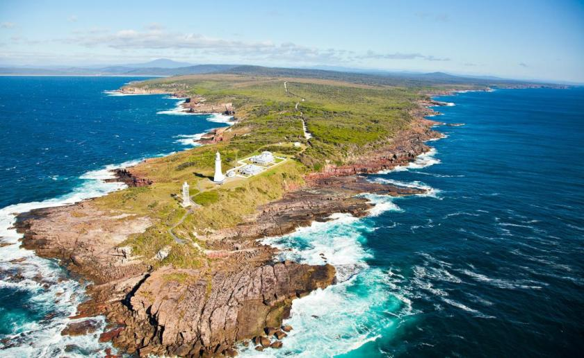 Green Cape from the air-National Parks