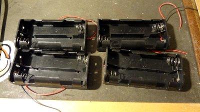 C battery holders