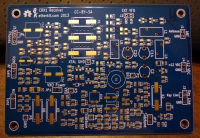 Etherkit CRX1 board