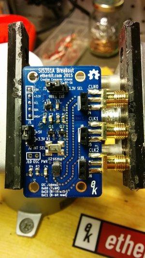 Etherkit Si5351 board non-TCXO version