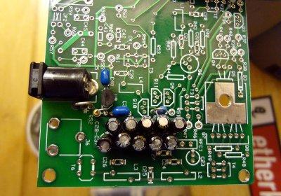 Ensemble RXTX power section