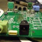 CC1 audio amp/mute section
