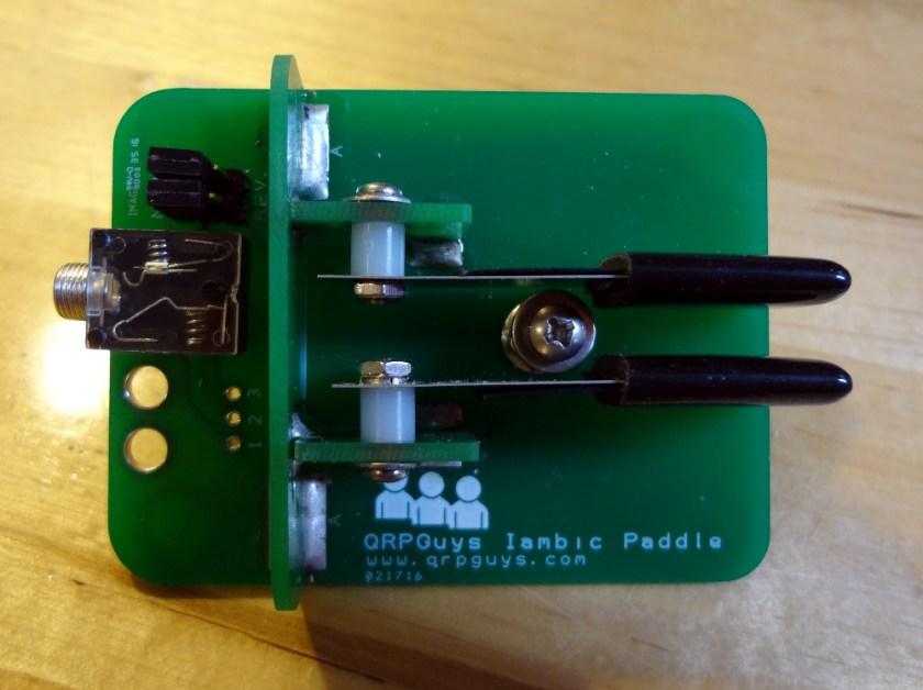 QRPGuys iambic mini-paddle