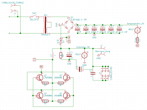 Power supply schematic