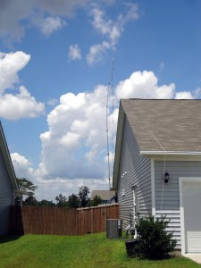Antenna over the roof