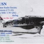 WA4USN QSL Card (Front)