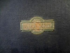 Instructograph label