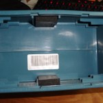 Tektronix 222 battery compartment