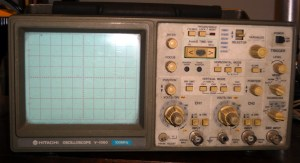 Hitachi V-1060 oscilloscope