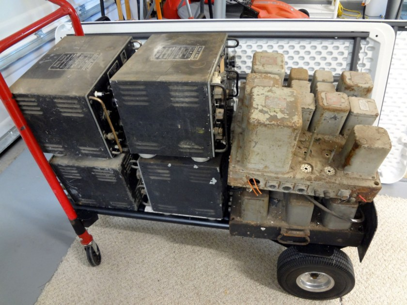 Surplus US Navy communications equipment