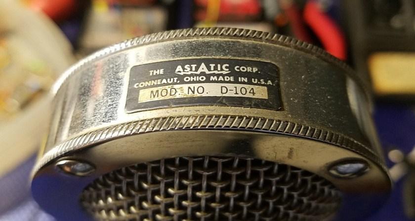 Astatic D-104 microphone