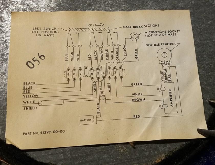 Astatic D-104 schematic