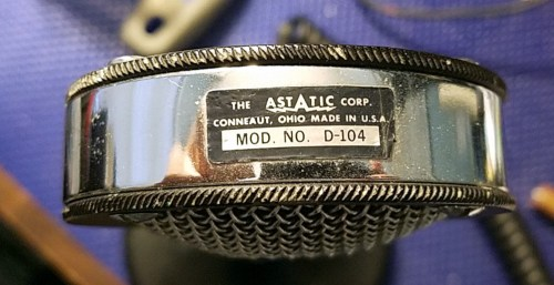 Another Astatic D-104 microphone