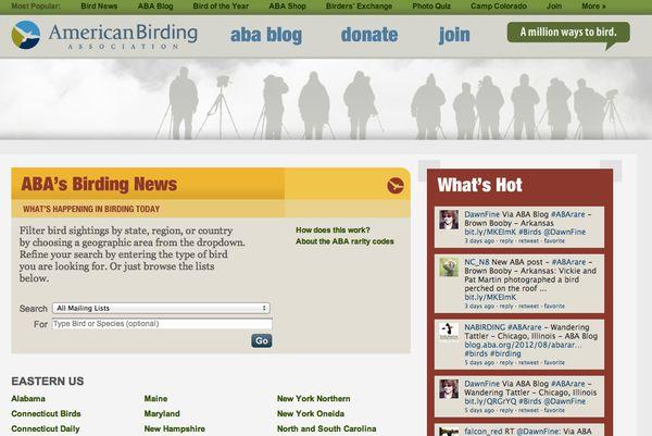 ABA Debuts Birding News Blog