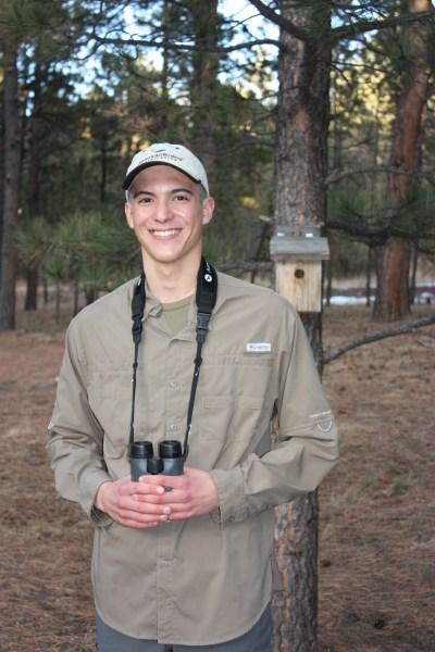 Alec Wyatt, 2014 Young Birder of the Year!