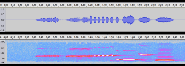 33-Cassin's Sparrow waveform and spectrogram
