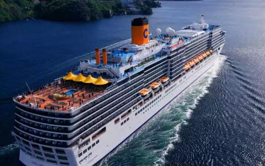 croisière tour du monde - costa croisière navire costa deliziosa