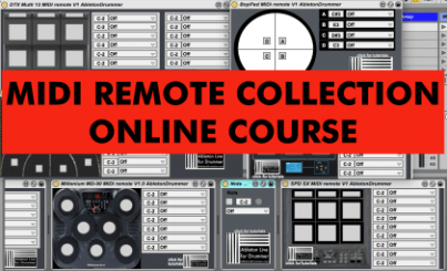 MIDI REMOTE COLLECTION for Ableton Live