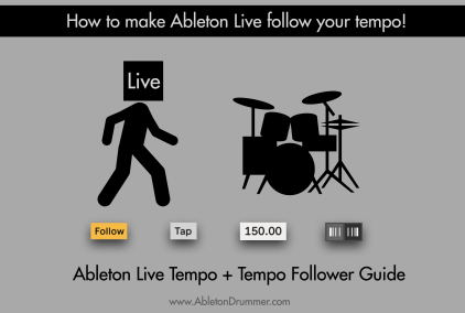 Control Ableton Lives tempo dynamically