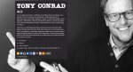Tony Conrad on about.me