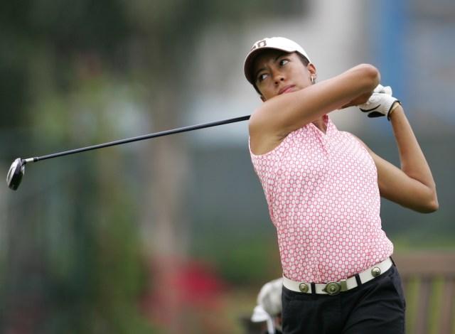 Andia Winslow Golfing