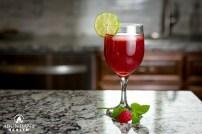 Raspberry Mint Iced Tea
