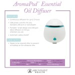 AromaPod™ Essential Oil Diffuser Info Graphic