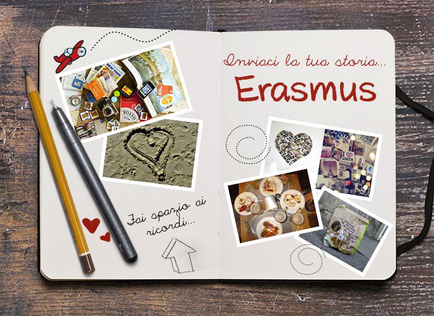 Inviaci la tua storia Erasmus