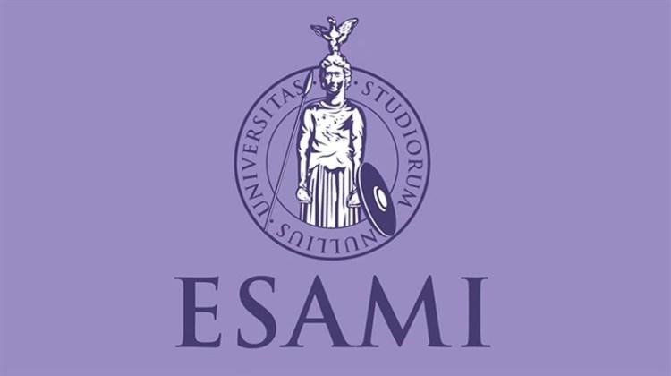 """Screenshot della """"sigla"""" d'inizio di ogni puntata della webserie """"ESAMI"""""""