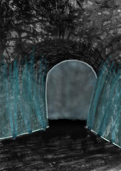 Render di simulazione dell'ingresso a Reborn