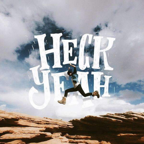 """""""Wordscape"""" - Lettering su fotografia di ragazzo che salta realizzato da Stefan Kunz"""