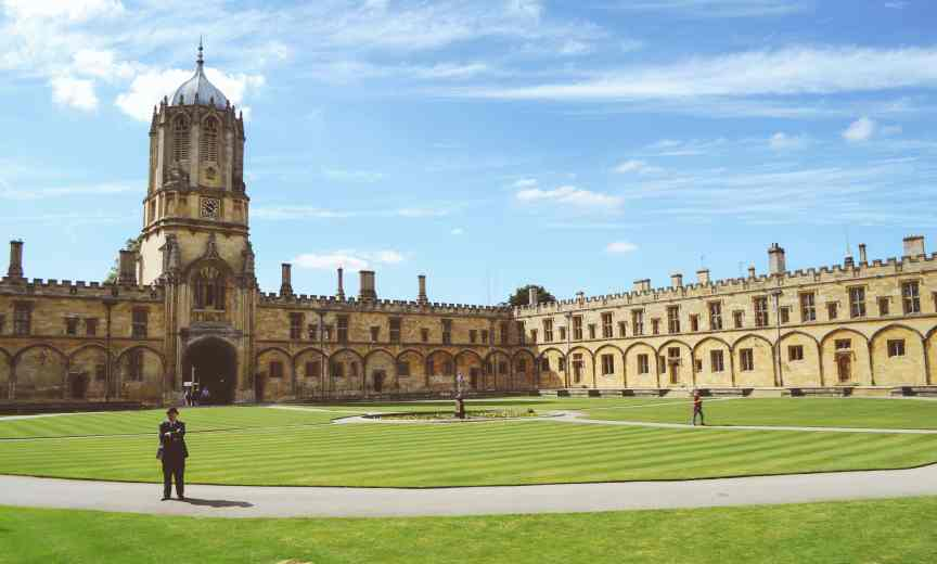 Even old school Oxford University accepts the GRE for MBA applications.