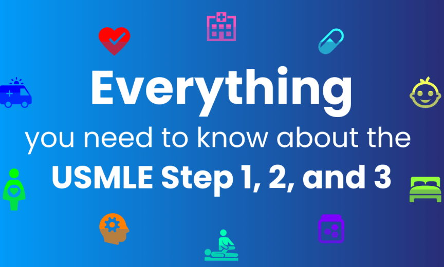 everything usmle step 1 2 and 3