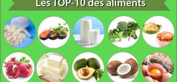 top-10 aliments