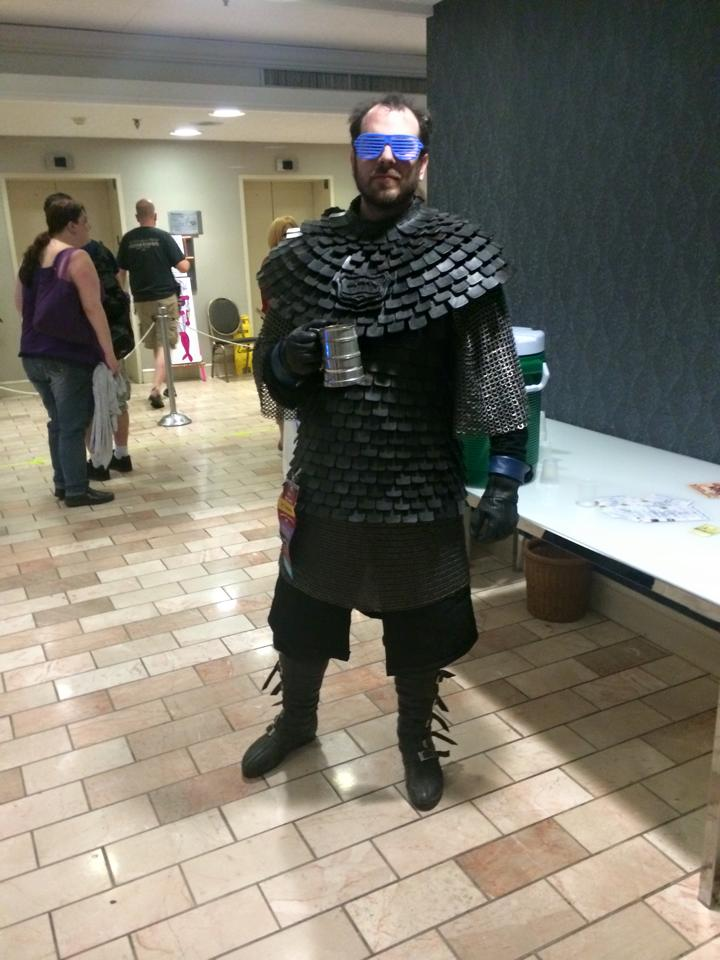 Game Of Thrones Brynden Tully Costume With Handmade Leather Armor Adafruit Industries Makers